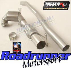 Milltek Golf R Sports Cat Downpipe Mk7 And S3 8v Exhaust 3 Ssxvw350 Ec Fits To Oe