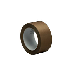 3m™ Ptfe Glass Cloth Tape 5451, Brown, 4 In X 36 Yd
