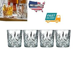 4 Set Home Kitchen Dining Bar Tool Glassware Glass Cups Markham Double Wine Fits