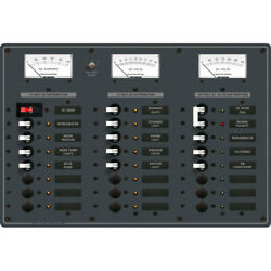 Blue Sea Systems 8084 Ac Main +6 Positions/dc +15 Positions Toggle Circuit