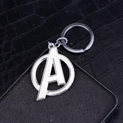 Popular Movie The Avengers Keychain Silver Color