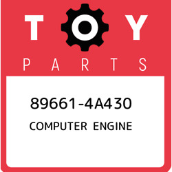 89661-4a430 Toyota Computer Engine 896614a430 New Genuine Oem Part