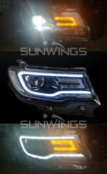 For Jeep Compass 2018 Headlights assembly Bi-Xenon Lens Double Beam HID KIT
