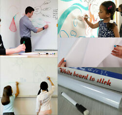 6.6 FT Dry Erase Boards Whiteboard Wall Stickers Vinyl Chalkboard Contact Paper