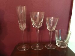 Crystal Stemware By St. Louis France
