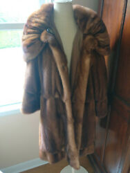 Mink Stroller - Womens - Vintage - Brown - Perfect Condition