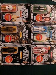 Star Wars Retro Collection Target Exclusive Full Set All 6 figures RARE Vader