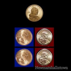 2019 P+d+s Native American Sacagawea Proof Mint Set Pd Pos A And B Five Coins
