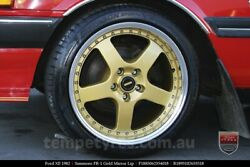 """4X GENUINE SIMMONS TOYOTA NISSAN 18"""" FR-1 STAGGERED LIP WHEELS & NEW TYRES LEXUS"""