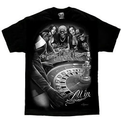 All In DGA David Gonzales Art T Shirt