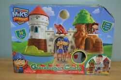 Brand New Fisher-price Mike The Knight Glendragon Castle Playset Y8370