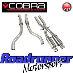 Cobra Bmw M3 E92 E93 E90 Exhaust Decat Section And Front Pipes Stainless Bm63 New