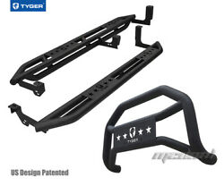 Tyger Armor And Bumper Guard Combo Fit 99-06 Chevy Silverado/gmc Sierra Ext Cab