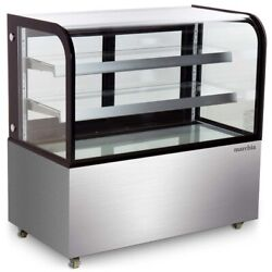 Marchia Mb48, 48 Floor Model Curved Glass Refrigerated Display Case