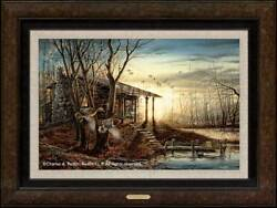 Morning Retreat Framed Legacy Canvas By Terry Redlin