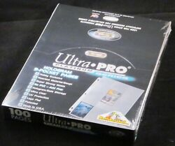 800 Ultra Pro Platinum 9-pocket Pages Sheets Protectors Brand New In Boxes
