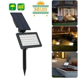 LED Solar Power Spotlight Garden Lawn Lamp Landscape Lights Outdoor Waterproof