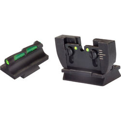 Hiviz Rg1022 Litewave Front And Rear Rifle Sight Combo Ruger 10/22 Green Red