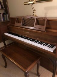 Kawai Upright Piano And Bench. Its Been Sold