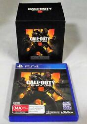 Call Of Duty Black Ops Iiii Sony Ps4 And Collectible Ruin Figurine