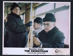 Pedestrian Lobby Card 6-1974-peggy Ashcroft And Peter Hall On A Bus