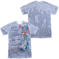 Dc Good Guys Short Sleeve T-shirt Licensed Graphic Md-3x