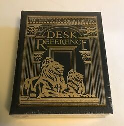 EASTON PRESS NEW YORK PUBLIC LIBRARY DESK REFERENCE Leather SEALED NEW