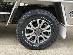 4x New Genuine Ford Wildtrak Ranger 2018 Model 18 Wheels And Bf Goodrich At Tyres