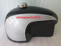 Brand New 10-12 Gallon Bmw Hoske Heinrich Dual Painted Gas Fuel Tank With Cap
