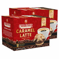 Cold Stone Creamery Caramel Latte Coffee 24 To 144 Keurig K Cups Pick Any Size
