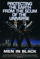 Men In Black movie poster print Will Smith Tommy Lee Jones 11 x 17 inches :