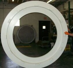 8 Ft Tall Round Portal Door architectural or interior design 1 of a kind