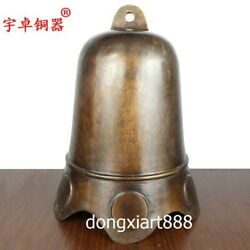 50 Cm Chinese Classical Allusion Brass Safe And Sound Hang Church Collision Bell