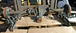 1976 Triumph Tr7 Rear Differential Axle Assembly-complete Hub To Hub-nice-clean-