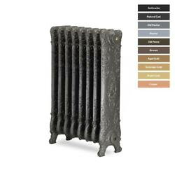 Saint Paul 800mmh Traditional Cast Iron Radiators 5 To 19 Sections Wide