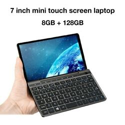 Mini Pc Pocket Laptop  8Gb Ram/128G Emmc Contact Screen Ultrabook Intel Celeron