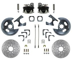 Rear Disc Brake Kit For Gm 10 12 Bolt Rear Non Staggered Shock Maxgrip Xds Rotor