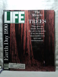 Life Magazine May 1990 The Miracle Of Trees Earth Day The Whitbread Yacht Race