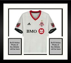 Framed Justin Morrow Toronto FC Signed GU Jersey vs Atlanta United FC on 8418