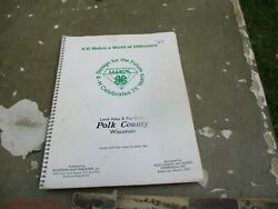 Land Atlas And Plat Book Polk County Index To Owners Wisconsin Maps Towns 1989