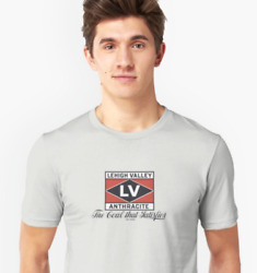 Lehigh Valley Anthracite - The Coal That Satisfies - Unisex/fitted T-shirt