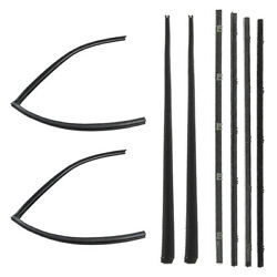 New Weatherstripping Beltline Molding Kit / For 1967-72 Chevy / Gmc Suburbans
