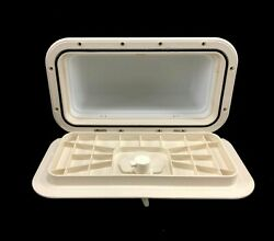 Innovative Product Solutions 8 X 14 Arctic White Boat Glove Box 529-033