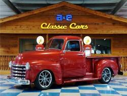 1952 Chevrolet Other Pickups 5.7L GM Small Block 1952 Chevrolet 3100 Pickup 5 Window – Crimson Red