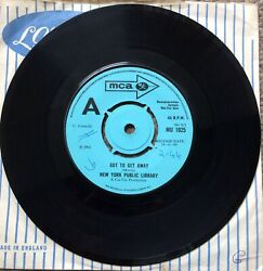"""New York Public Library - Got To Get Away b/w Time Wastin 7"""" Promo Psych Vinyl"""