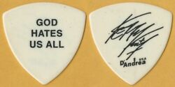 Slayer 2001 God Hates Us All concert tour Kerry King real stage Guitar Pick