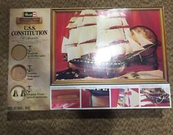 1978 Vintage Uss Constitution Ship Model Kit By Revell New Never Assembled