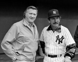 George Steinbrenner And Billy Martin 8x10 Glossy Photo Picture Image 2