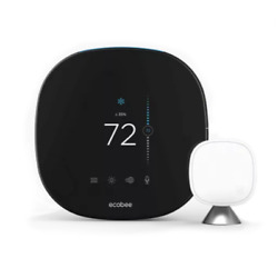 Ecobee Smartthermostat - Wi-fi Thermostat 4h/2c - 7-day Programmable - Voice ...