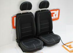 Lri Full Leather Heated Tdci/ Front Seats Fit Land Rover Defender 90/110